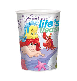 Disney Ariel Dream Big 16oz Plastic Favor Cup