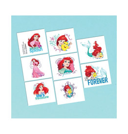 Disney Ariel Dream Big Tattoos - 16ct