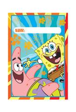 SpongeBob Favor Bags - 8ct