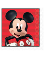 Mickey On The Go Luncheon Napkins - 16ct