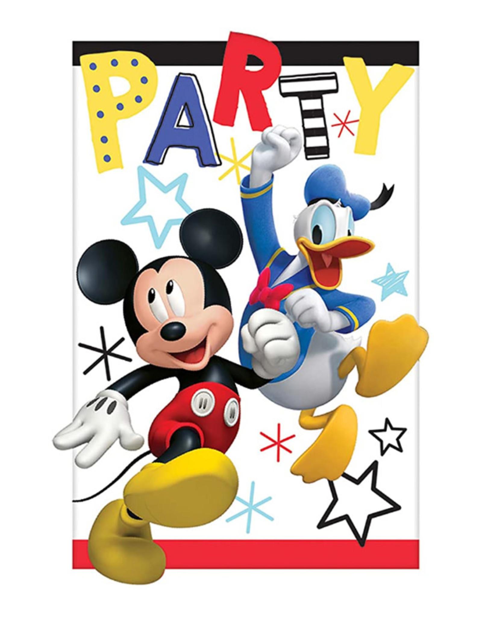 Mickey On The Go Invitations - 8ct