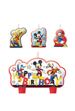 Mickey On The Go Candle Set - 4ct