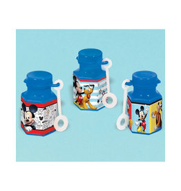 Mickey On The Go Bubble Bottles - 12ct