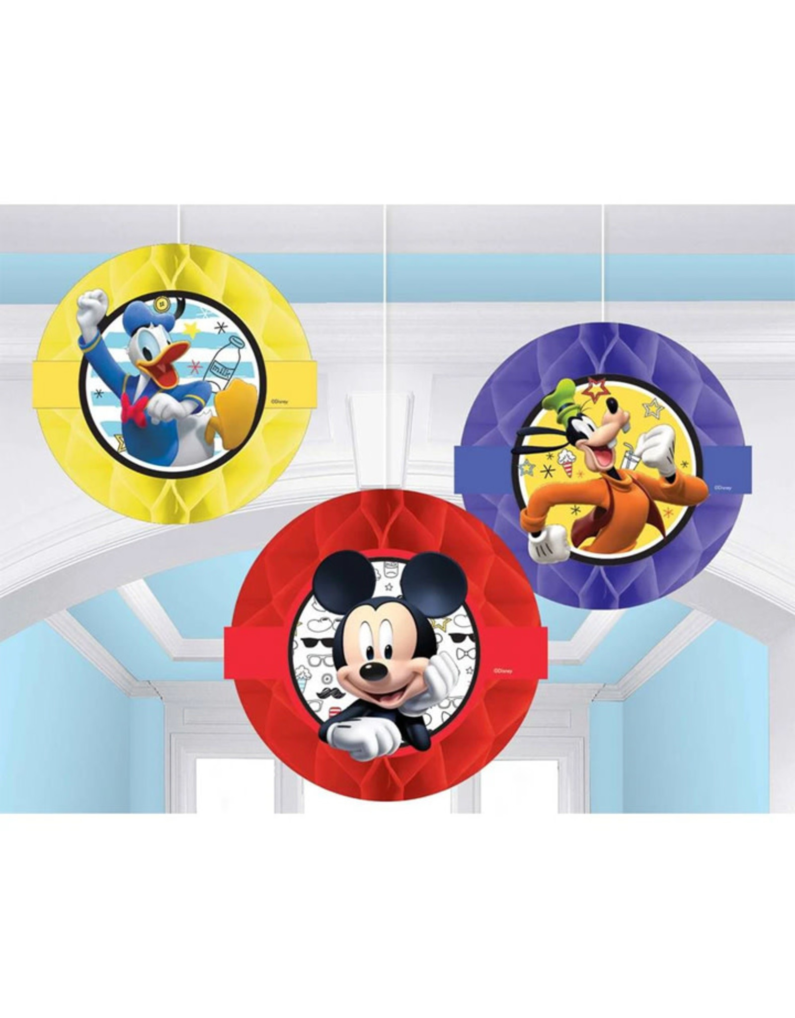 Mickey On The Go Hanging Decor - 3ct