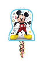 Mickey On The Go Pull String Pinata