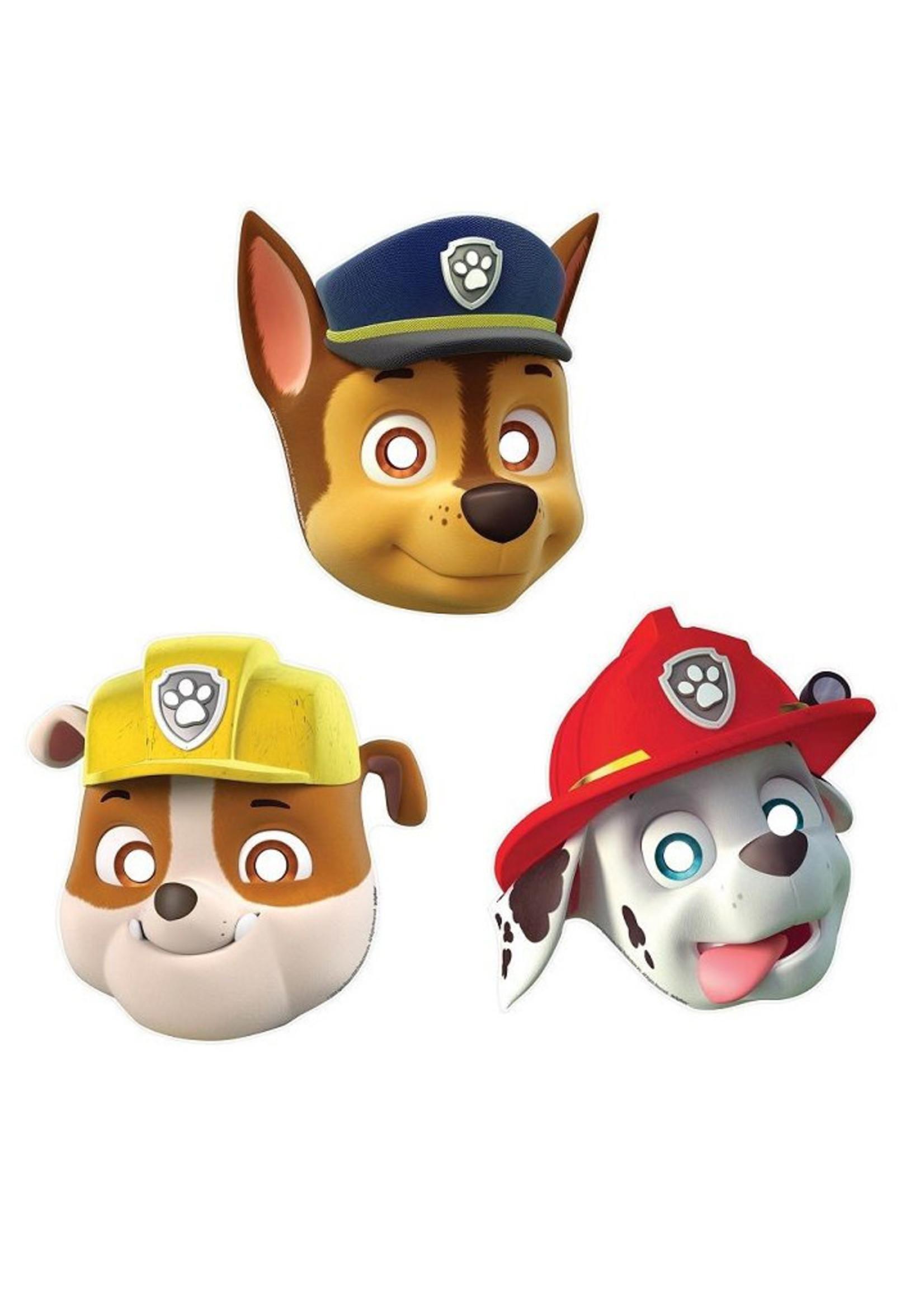 Paw Patrol Paper Masks - 8ct