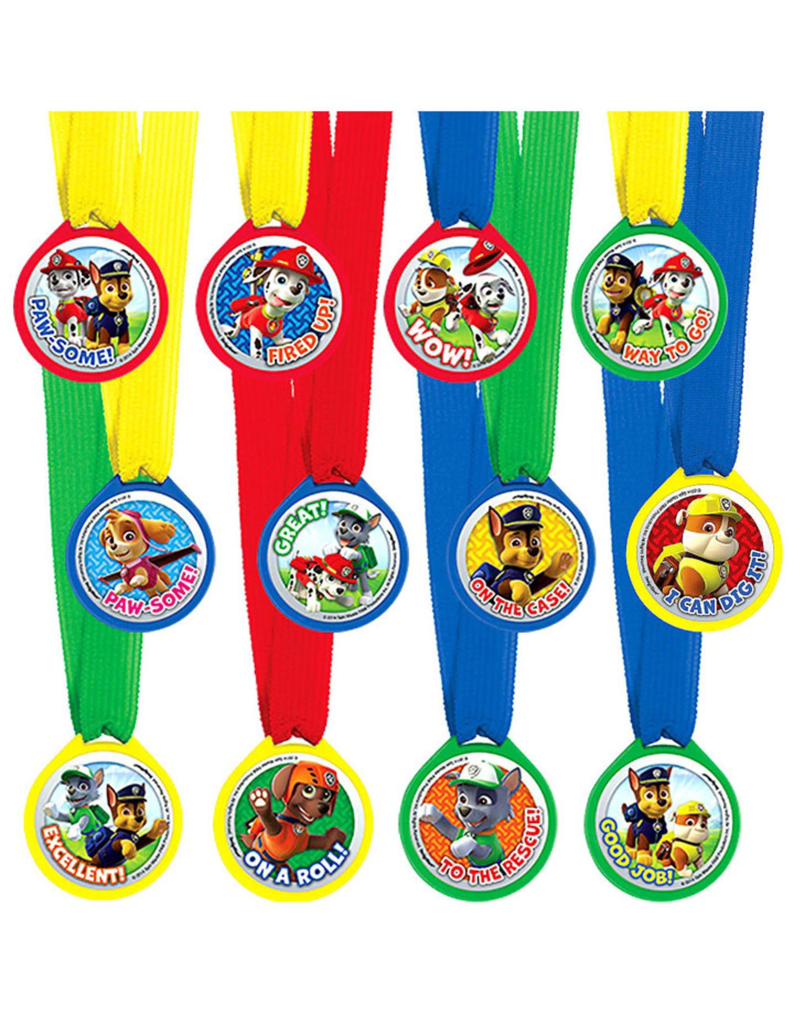 PAW Patrol Award Medals - 12ct
