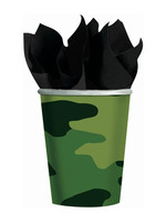 Camouflage 9oz Paper Cups - 8ct