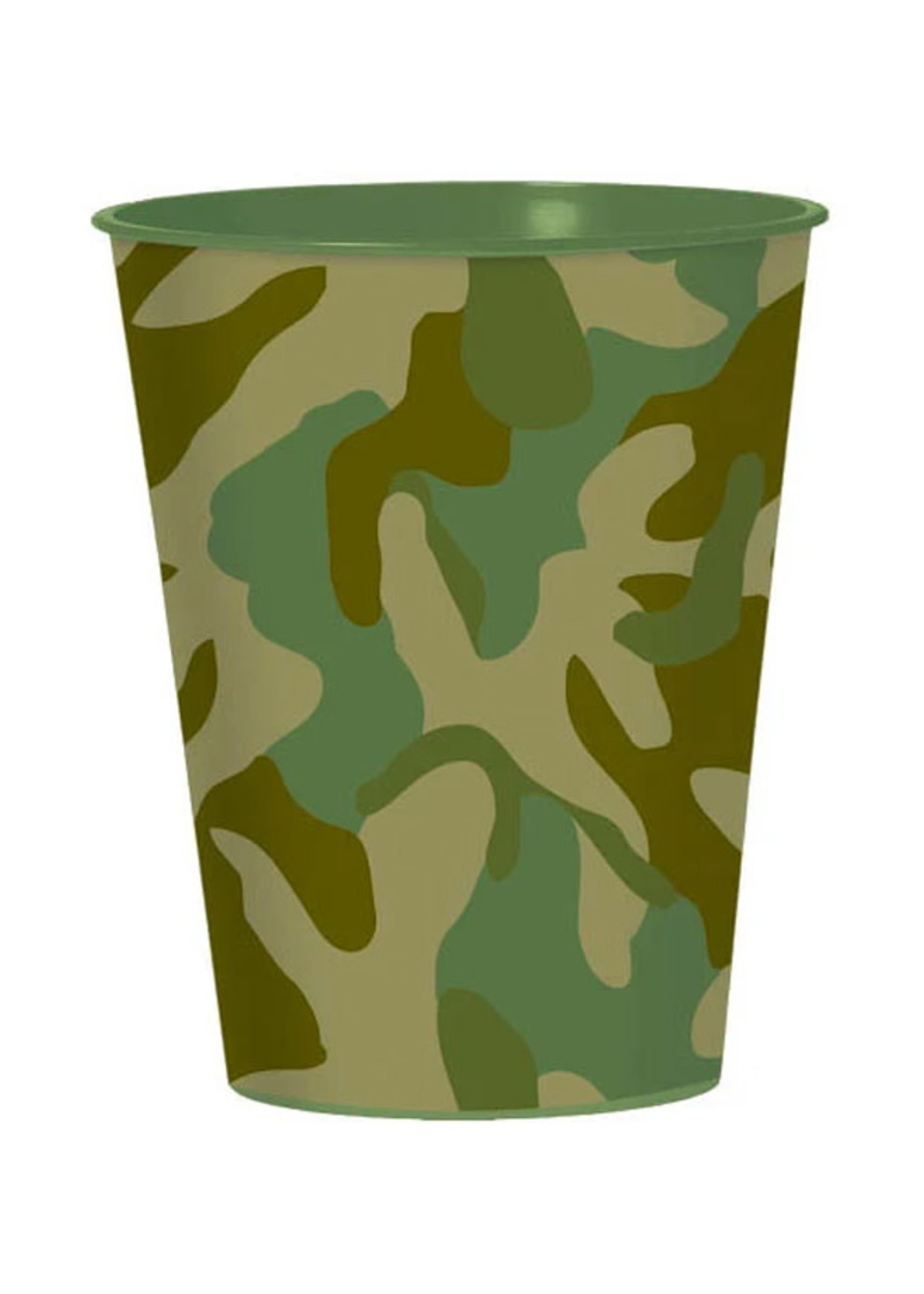 Camouflage 16oz Favor Cup