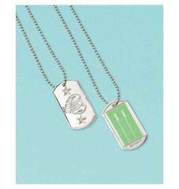 Camouflage Dog Tags - 12ct