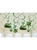 Camouflage Hanging Swirls - 12ct