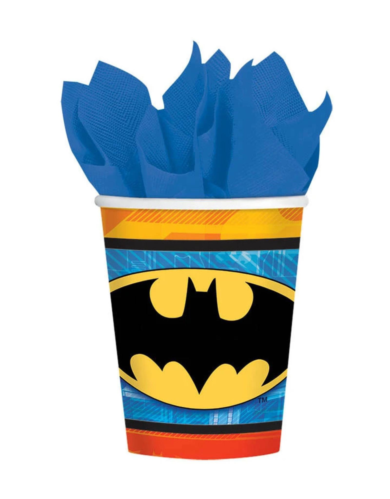 Batman 9oz Paper Cups - 8ct