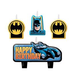 Batman Molded Candles - 4ct