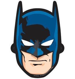 Batman Paper Masks - 8ct