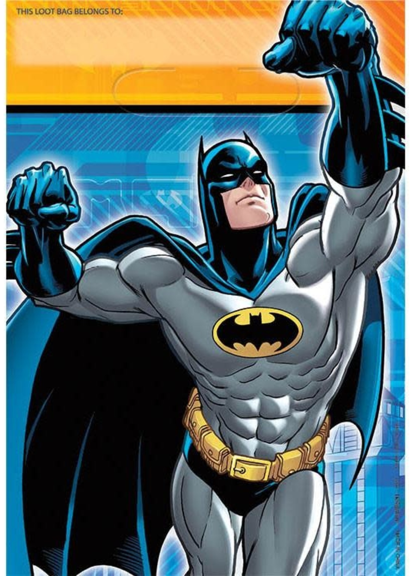 Batman Loot Bags - 8ct