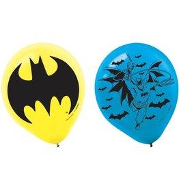 "Batman 12"" Latex Balloons - 6ct"