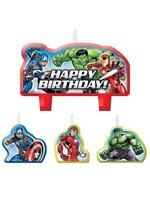 Marvel Epic Avengers Birthday Candles - 4ct