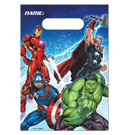 Marvel Epic Avengers Loot Bags - 8ct