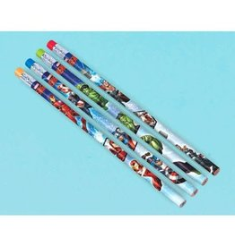 Marvel Epic Avengers Pencil Favors - 12ct
