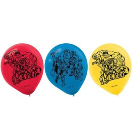 "Marvel Epic Avengers 12"" Latex Balloons - 6ct"