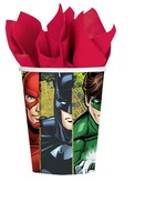 Justice League 9oz Paper Cups - 8ct