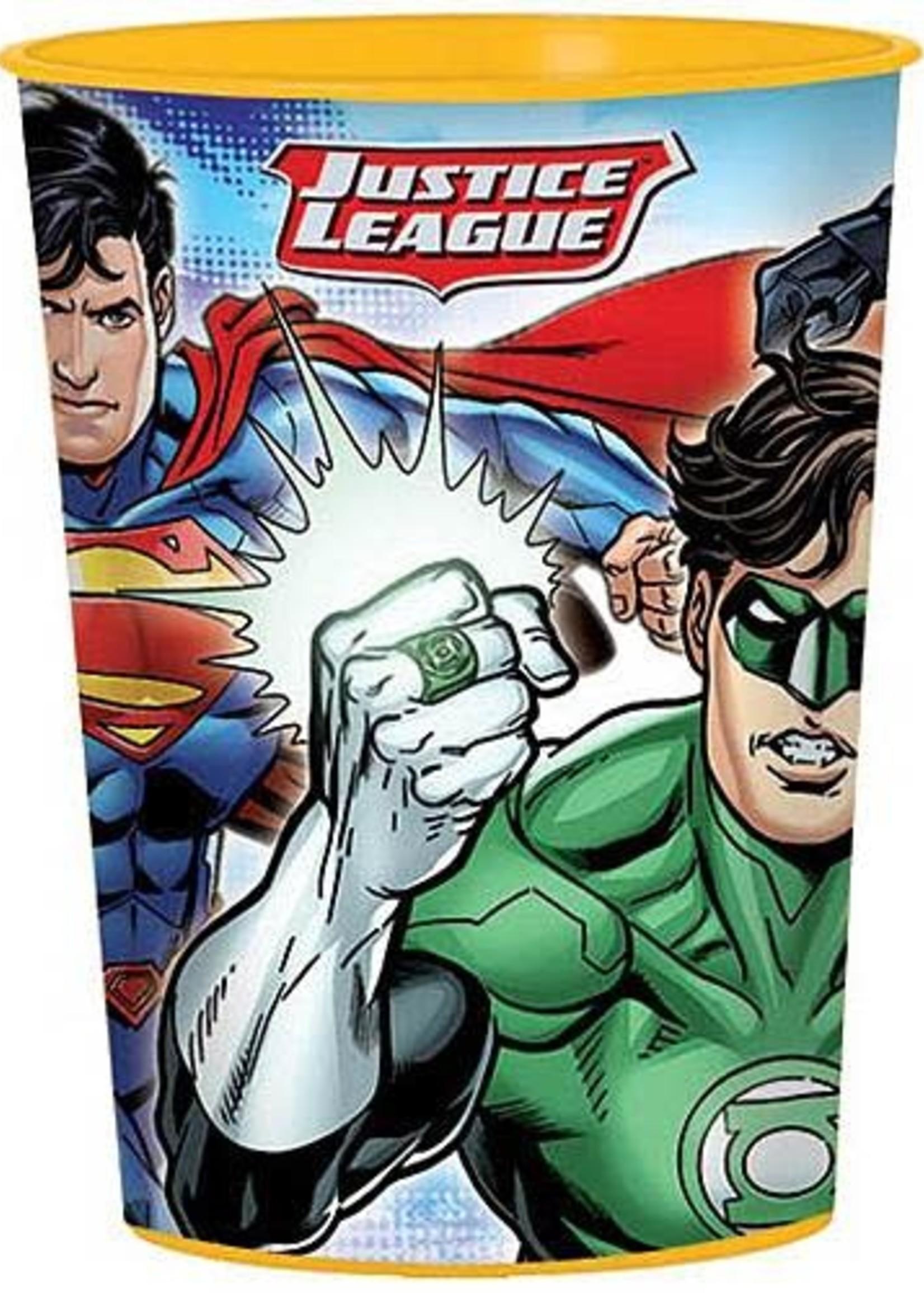 Justice League 16oz Favor Cup