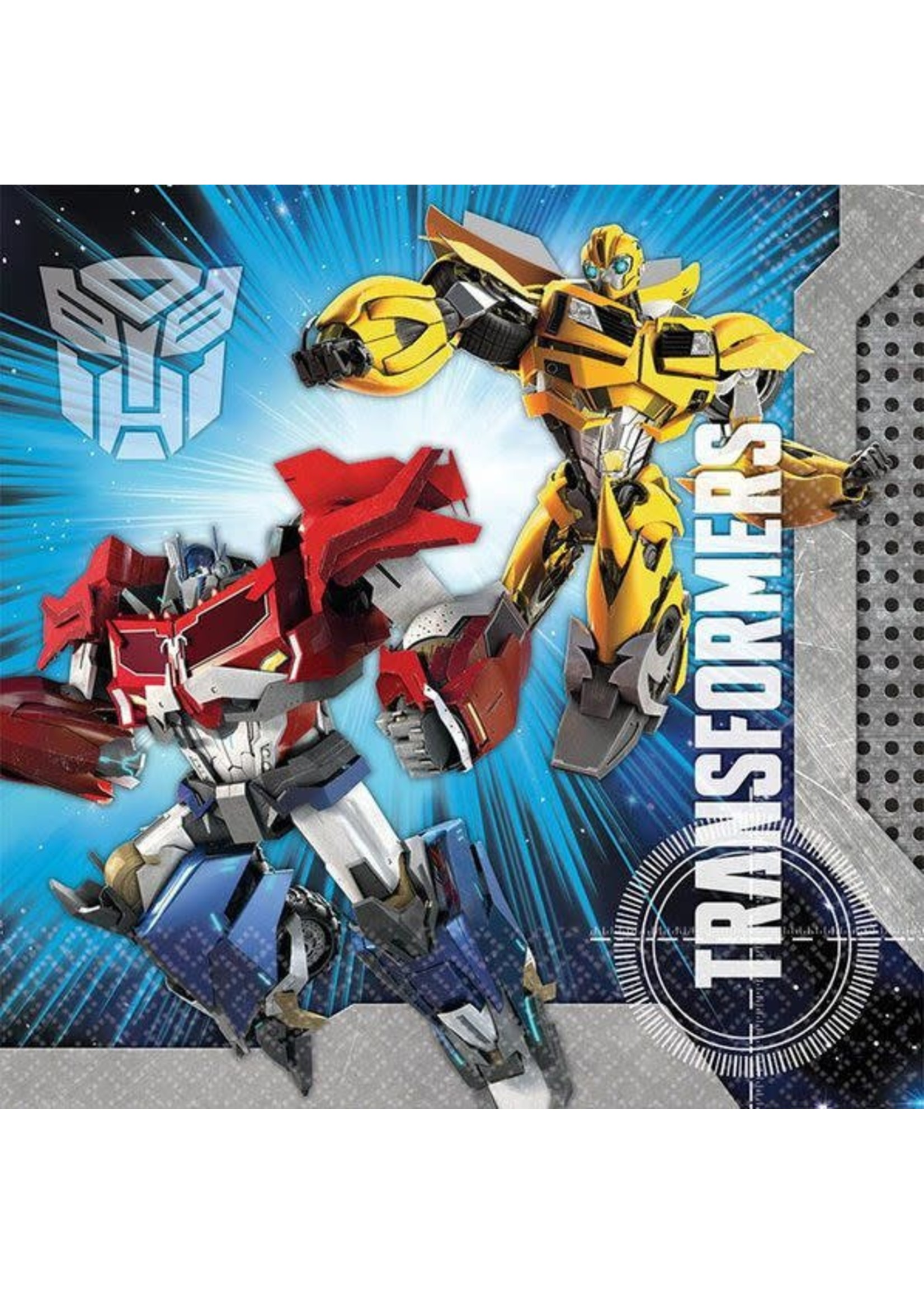 Transformers Luncheon Napkins -16ct