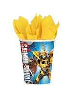 Transformers 9oz Paper Cups - 8ct