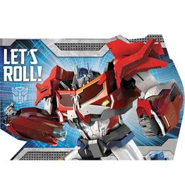 Transformers Postcard Invitations - 8ct