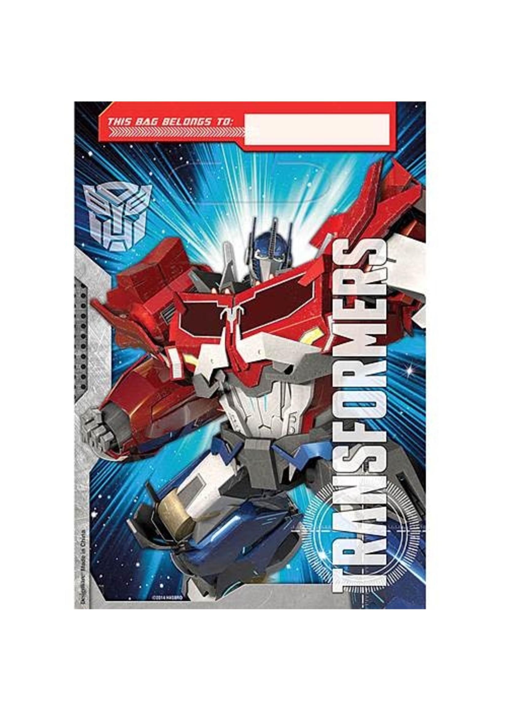Transformers Loot Bags - 8ct