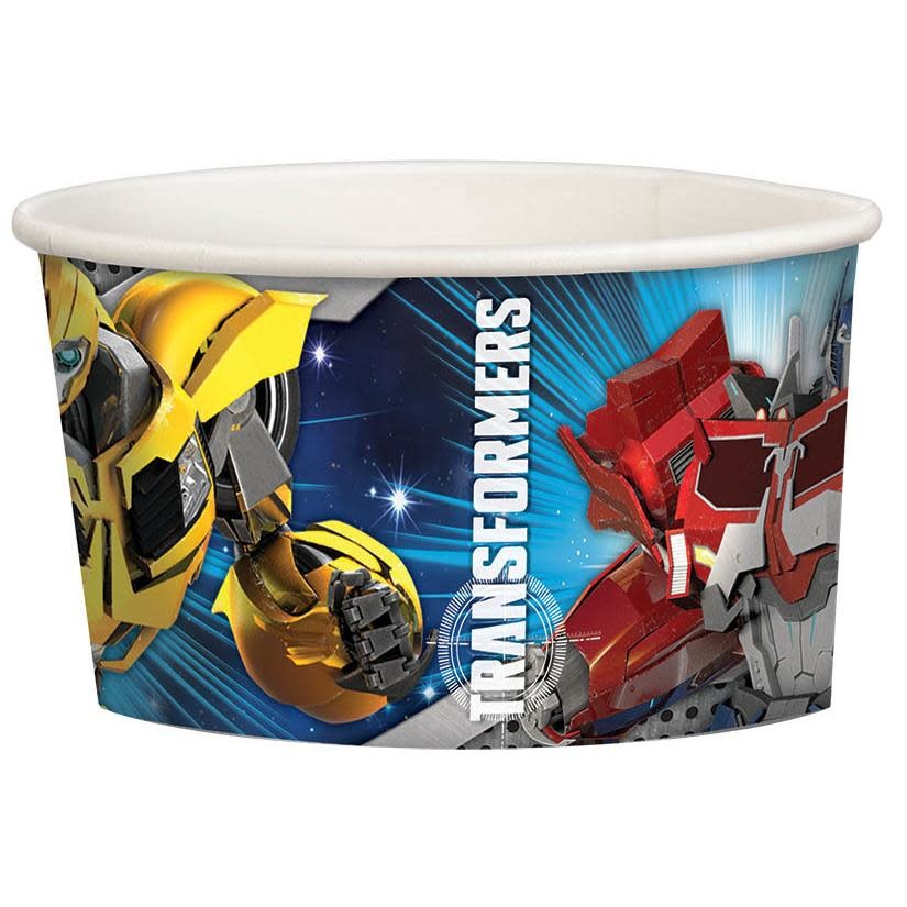 Transformers 9.5oz Paper Treat Cups - 8ct