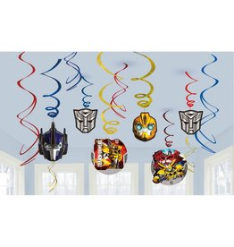 Transformers Hanging Swirls - 12ct