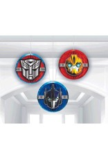 Transformers Honeycomb Decorations - 3ct