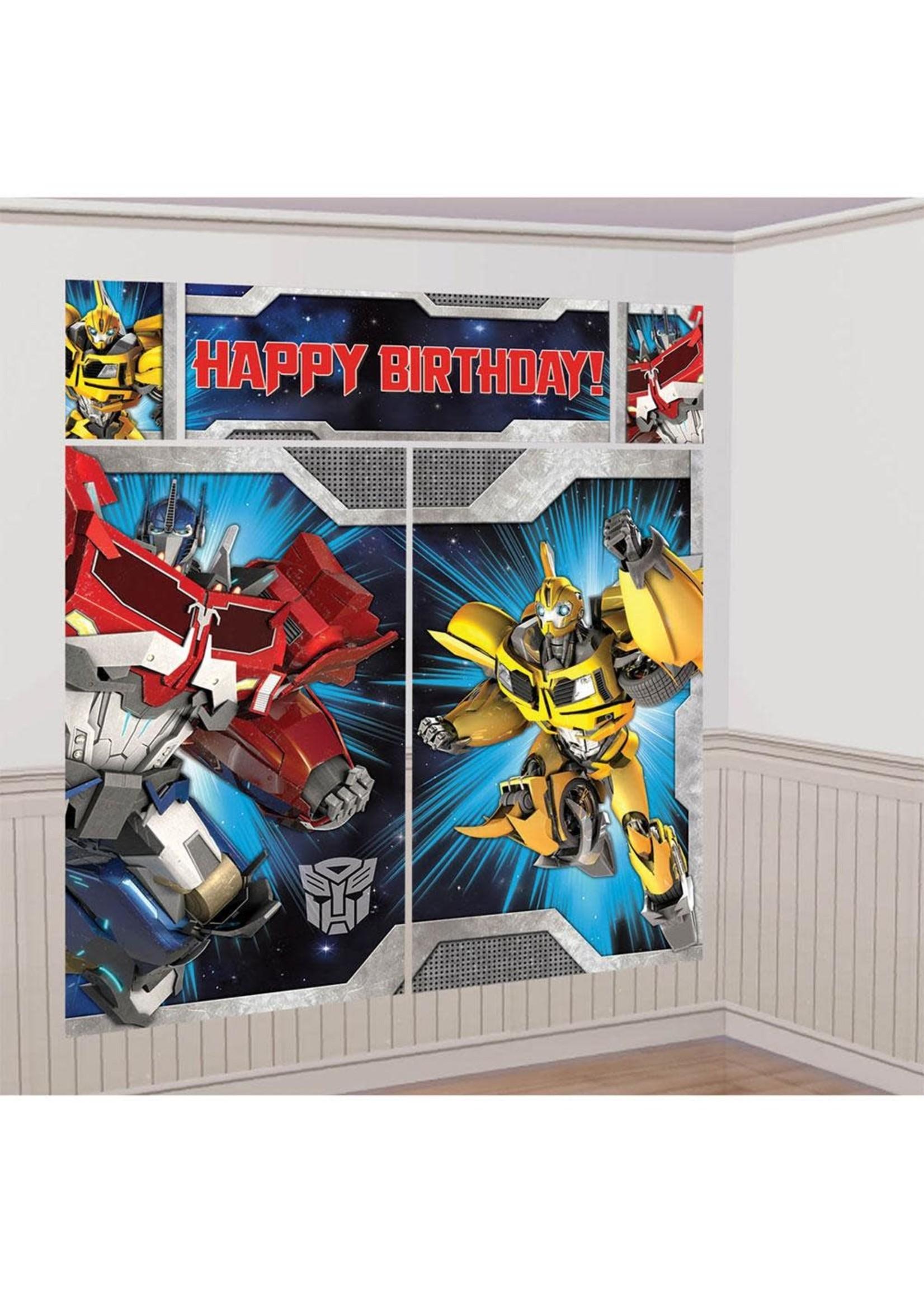 Transformers Scene Setters