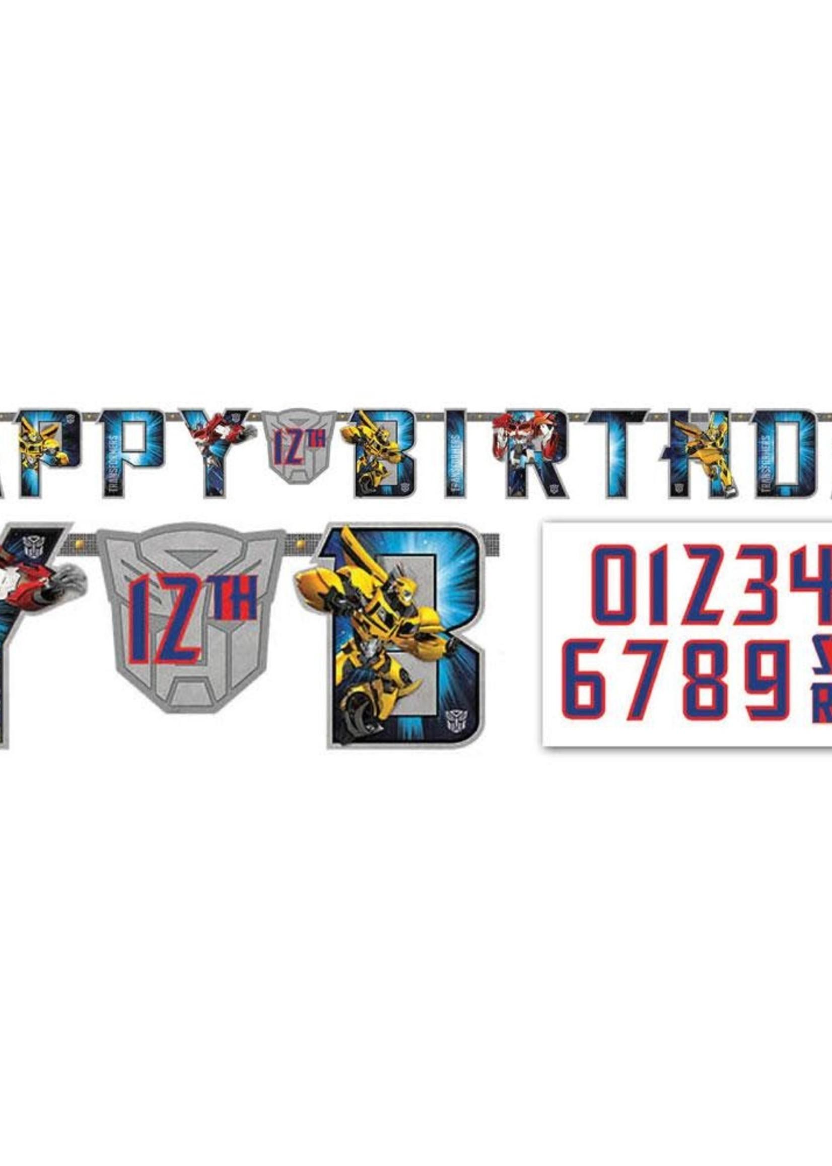 Transformers Large Custom Banner