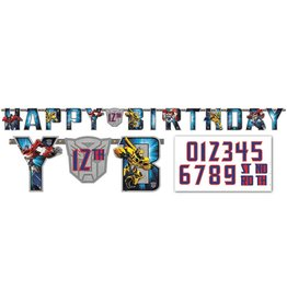 Transformers Large Custom Banner
