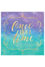 Disney Princess Once Upon A Time Beverage Napkins - 16ct