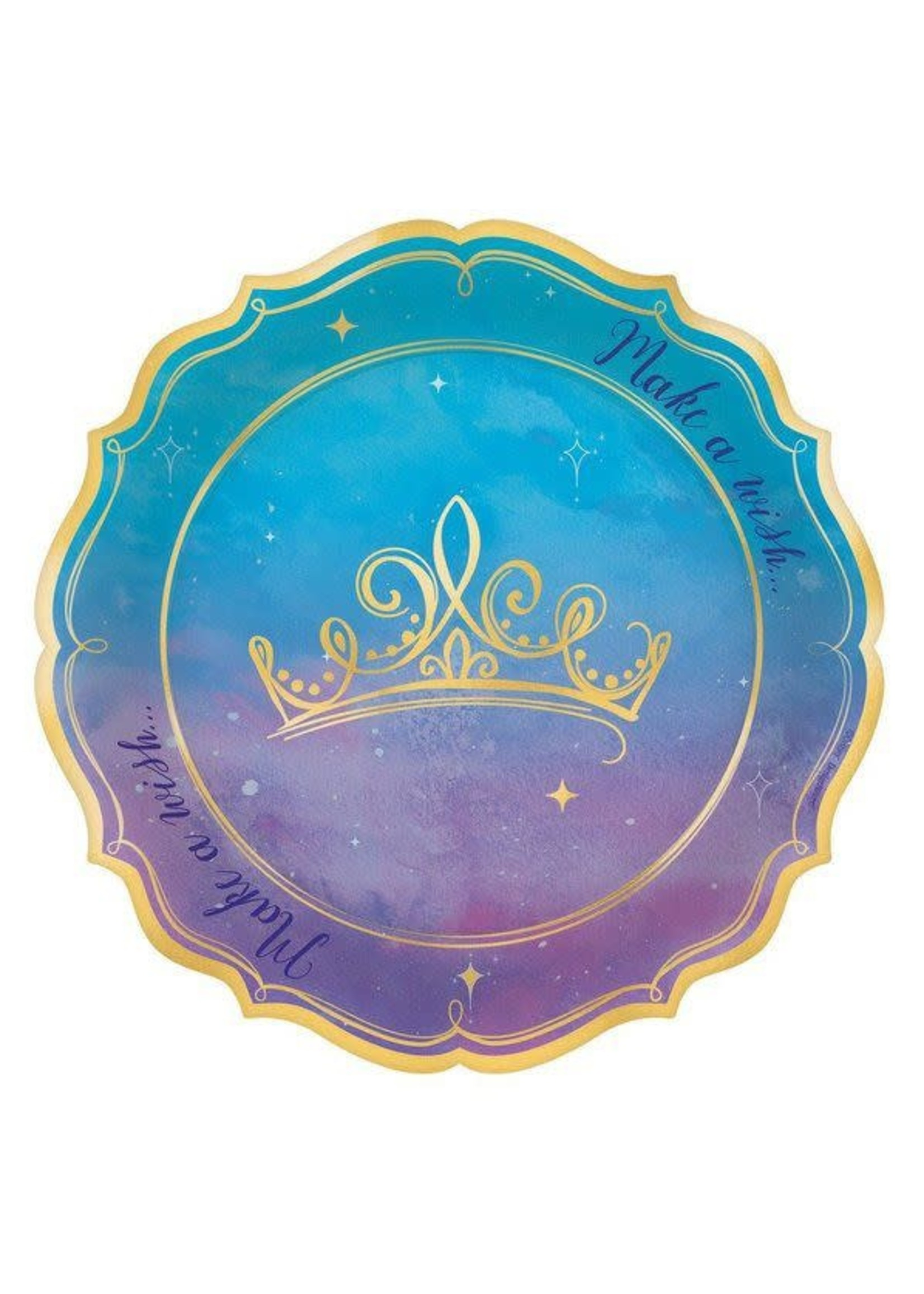 Disney Princess Once Upon a Time Dessert Plates - 8ct