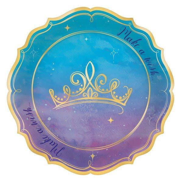 Disney Princess Once Upon a Time Dessert Plates - 8ct