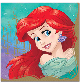 Disney Princess Ariel Lunch Napkins - 16ct