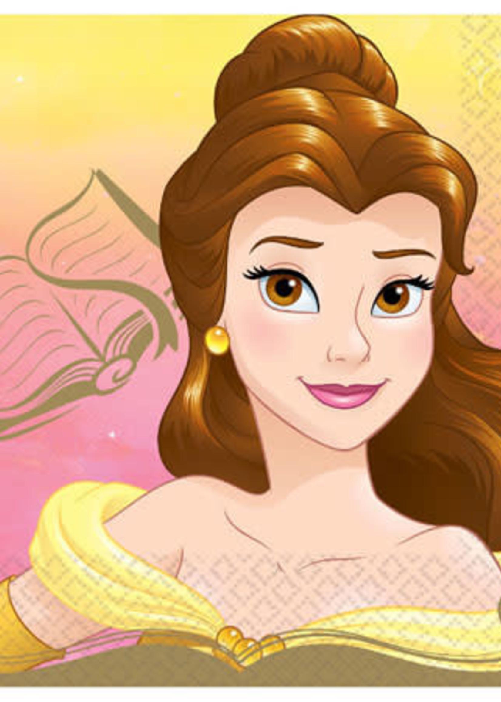 Disney Princess Belle Lunch Napkins 16ct