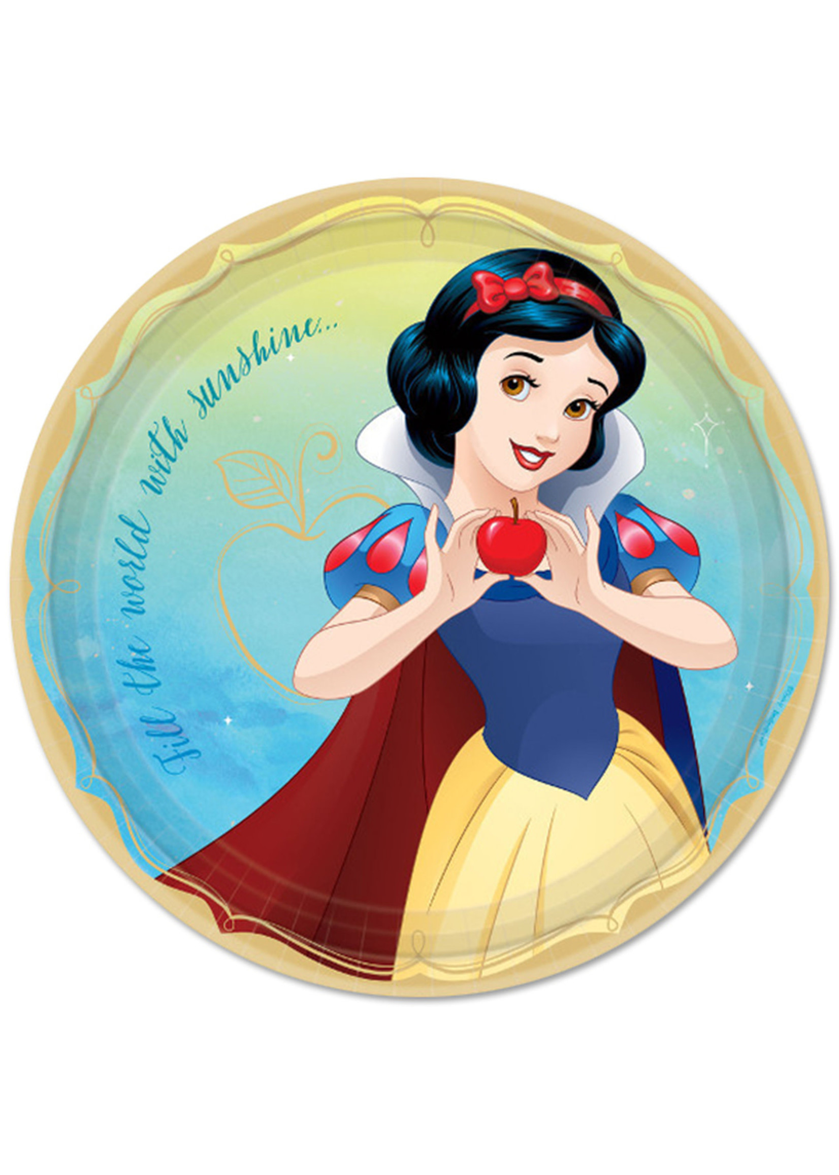 Disney Princess Snow White 9in Plates - 8ct