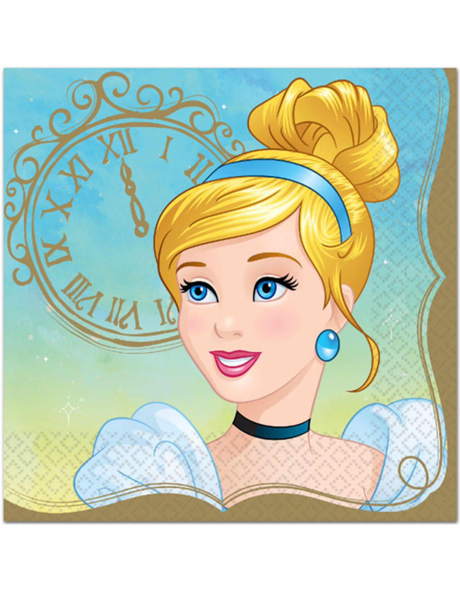 Disney Princess Cinderella Lunch Napkins - 16ct