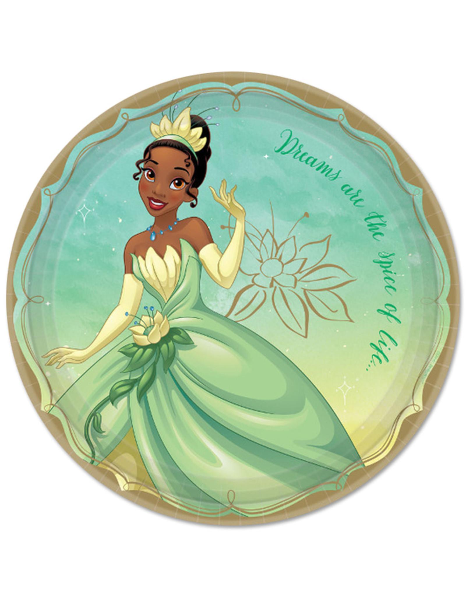 Disney Princess Tiana 9in Plates - 8ct