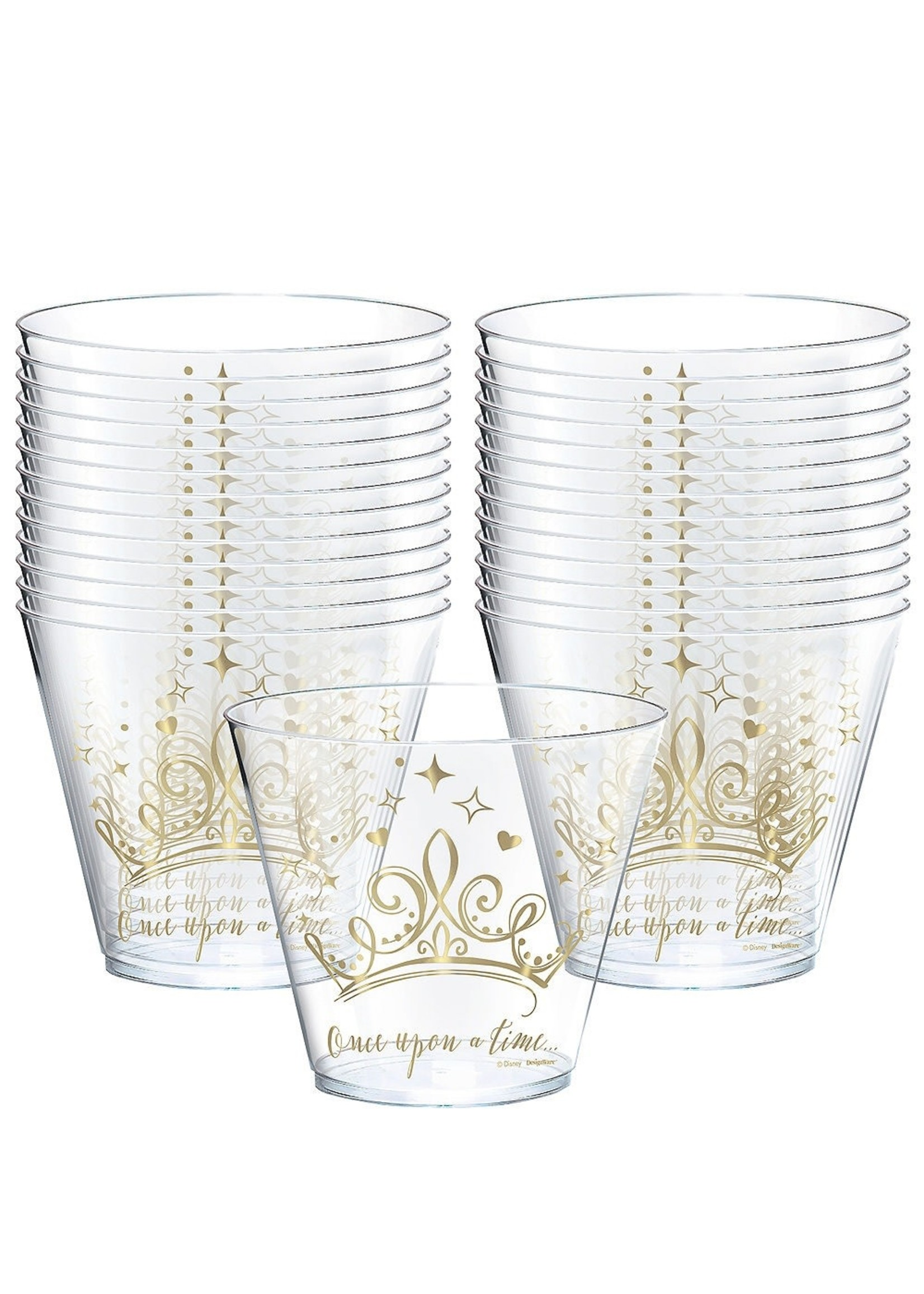 Disney Princess Once Upon a Time Plastic Cups - 8ct