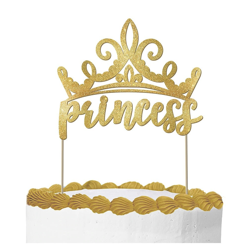 Glitter Disney Princess Once Upon a Time Cake Topper