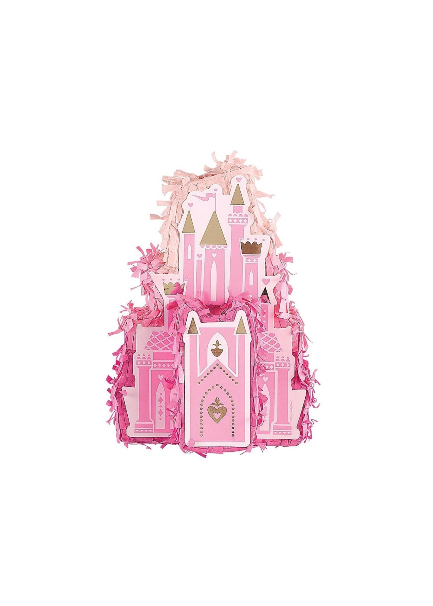Mini Disney Princess Once Upon a Time Castle Pinata Decoration