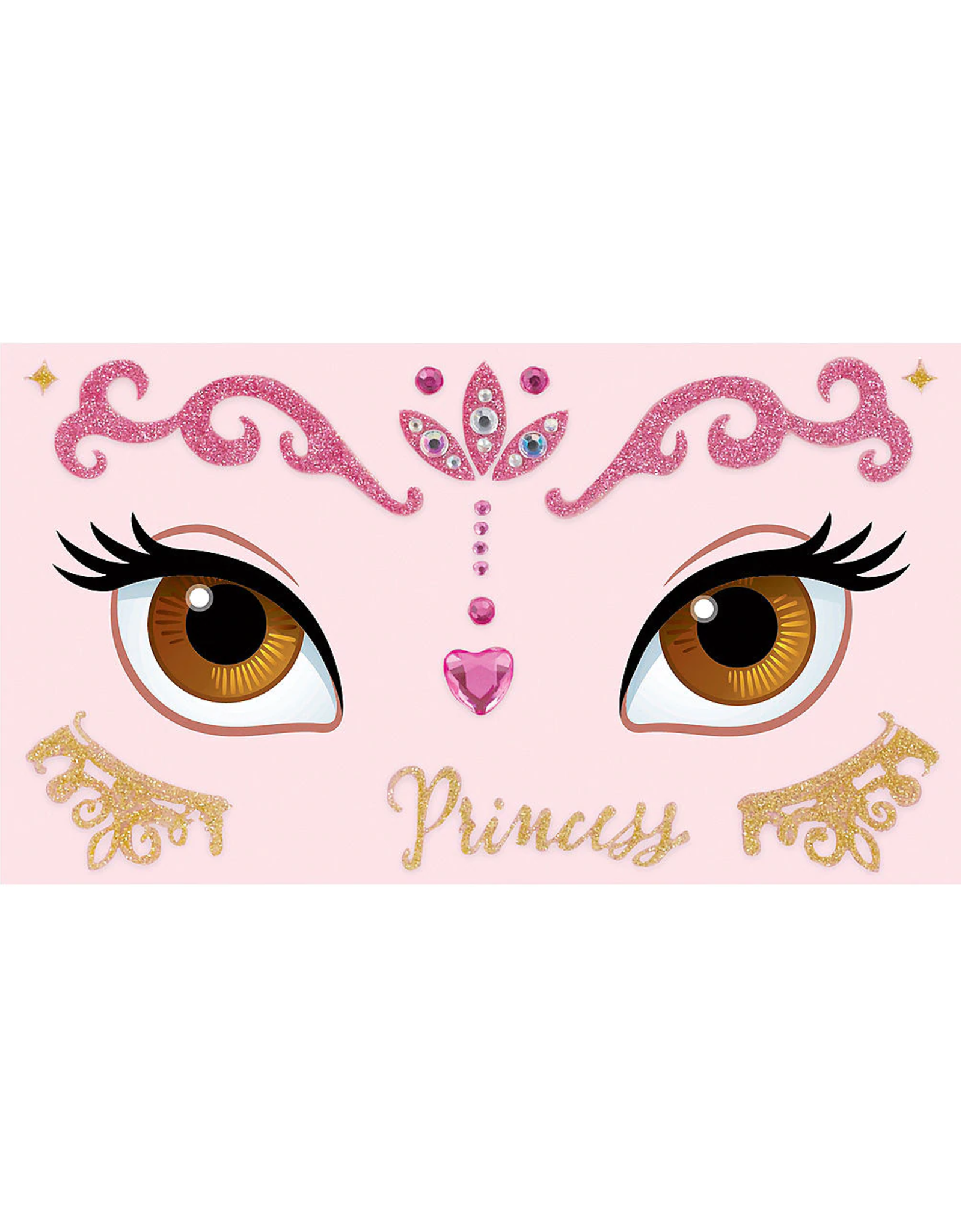 Disney Princess Once Upon a Time Body Jewelry - 18ct