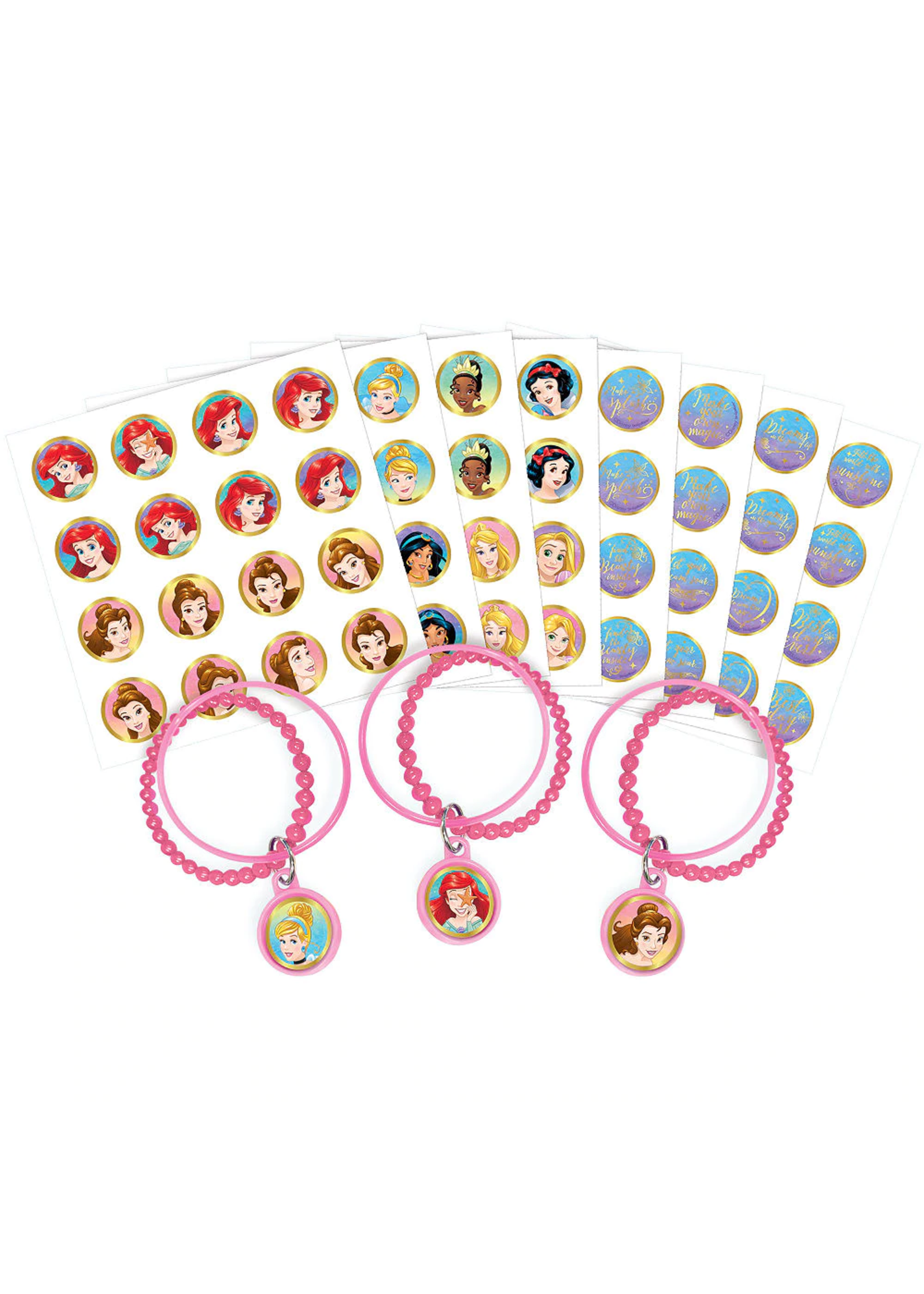 Disney Princess Once Upon a Time Bracelet Kits - 8ct