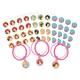 Disney Princess Once Upon a Time Bracelet Kits - 8ct